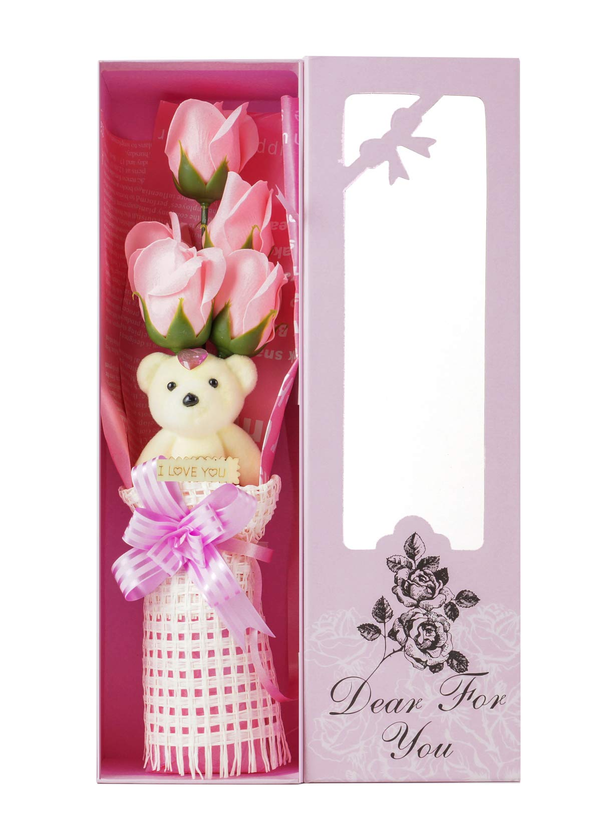 Adabele-Gifts-I-Love-You-Flower-Bouquet-Scented-Soap-Roses-with-Cute-Teddy-Bear-Women-Girls-Anniversary-Birthday-Mothers-Day-Valentines-Gift