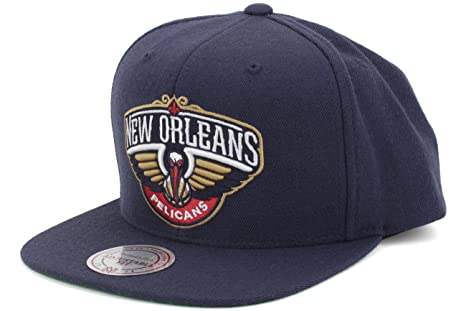 low priced c33ea bde8b New Orleans Pelicans Authentic Mitchell Ness Snapback Hat