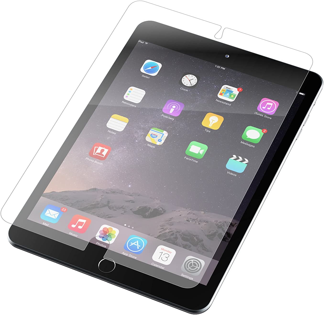 Best there Is Apple iPad Mini ZAGG InvisibleShield Screen Protector