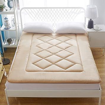 DULPLAY 100% conton Primeros del colchón, De algodón Abajo Cómodo Antideslizante Cubierta de Cama