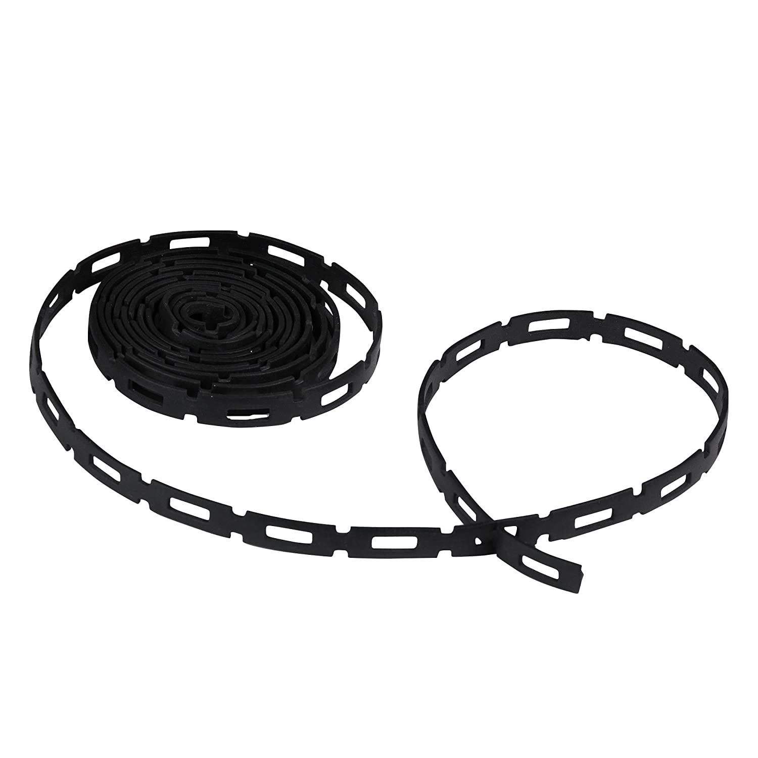 Dimex EasyFlex Plastic Locking Tree Plant and Cable Ties 1 2 Inch Wide 100 Foot Coil SoftFlex 1150 2