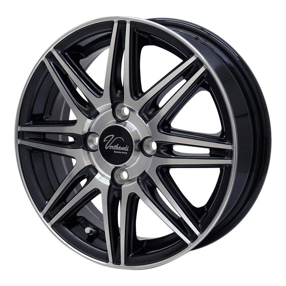 NANKANG(ナンカン) サマータイヤ&ホイール NS-2R 165/55R14 Verthandi(ヴェルザンディ) 14インチ 4本セット B0756DSGSF
