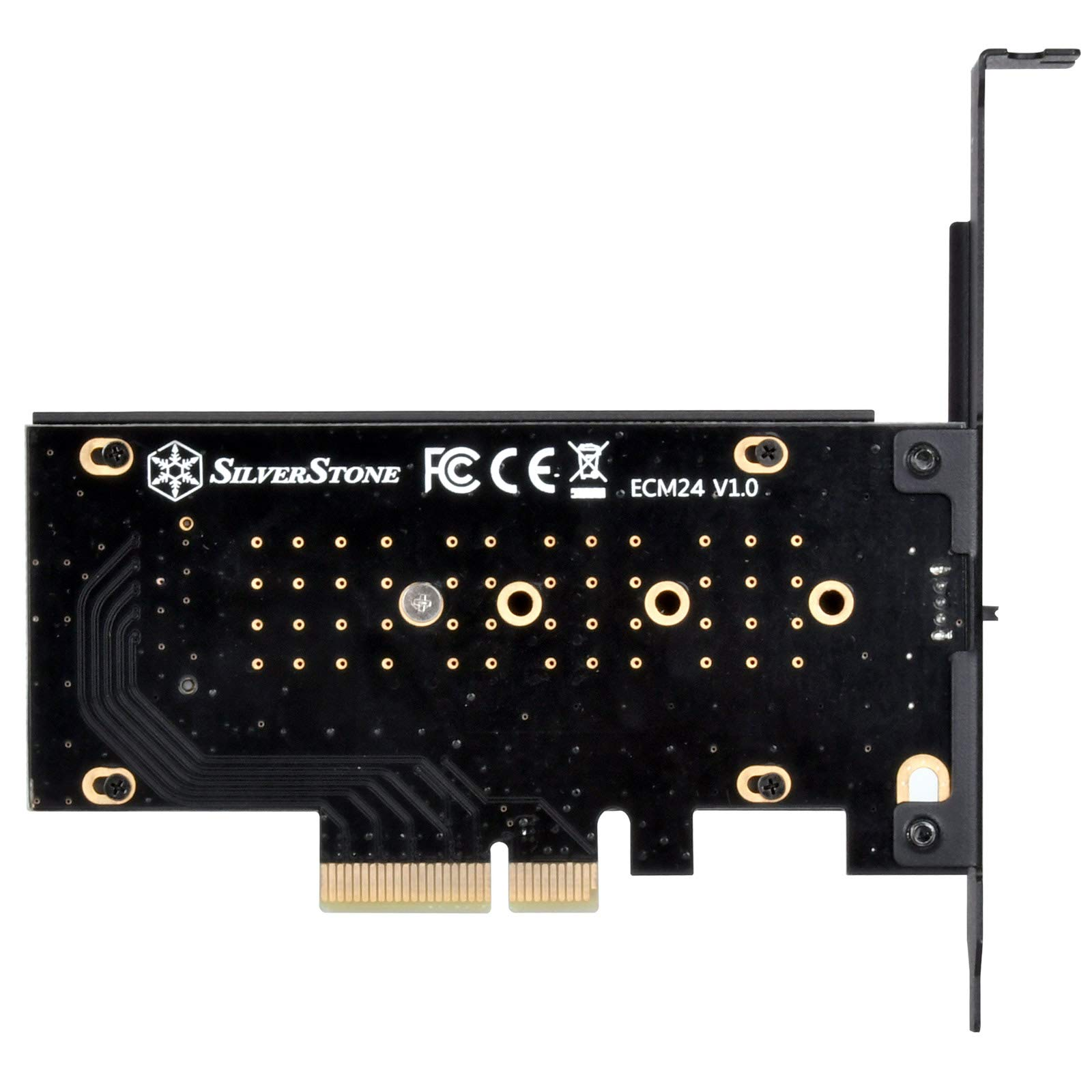 SilverStone Technology M.2 M Key PCIe NVMe Adapter to PCIe X4 with Integrated Heatsink SST-ECM24 by SilverStone Technology (Image #3)