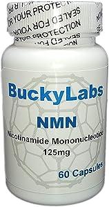 NMN ß-Nicotinamide Mononucleotide 125mg 60 Caps