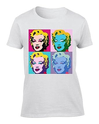 Et T Monroe Marilyn Femme ShirtVêtements Andy Warhol c354ALqRj