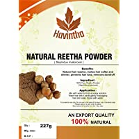 Natural Reetha Powder/Soap Nut for hair wash 227 grams (Pack of 1)