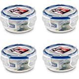 Lock & Lock, No BPA, Water tight, Food Storage Container, 3-oz, Pack of 4, HPL931