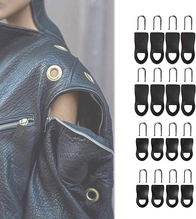 10 PCS Universal Detachable Zipper Puller Set Wide Waistbands Elastic Waist. 10PCS Long