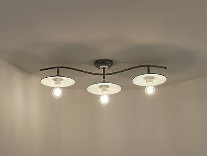 Plafoniere Per Laboratorio : Plafoniera lampadario classico rustico: amazon.it: illuminazione