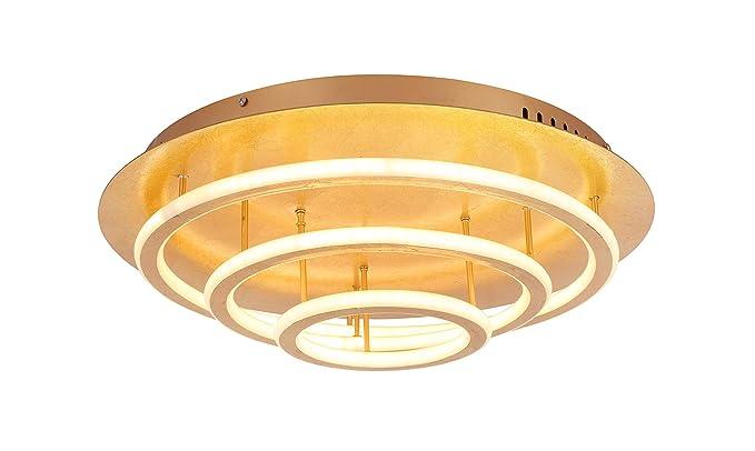 Globo - Lámpara de techo, color dorado: Amazon.es: Iluminación