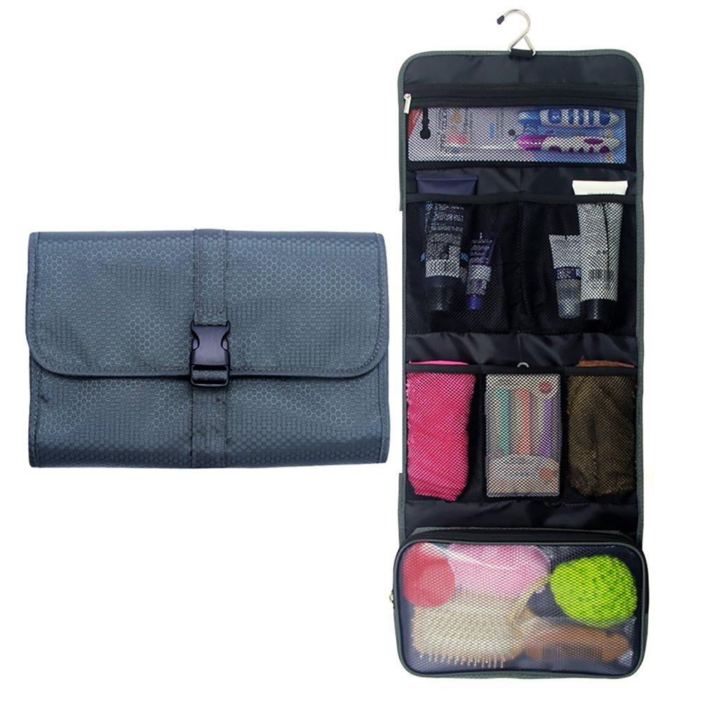 4d5011425854c9 Amazon.com : Travel Hanging Toiletry Bag Travel Kit Organizer Cosmetic  Makeup Waterproof Wash Bag for Women Girls Travel Case for Bathroom Shower  (1 Hot ...