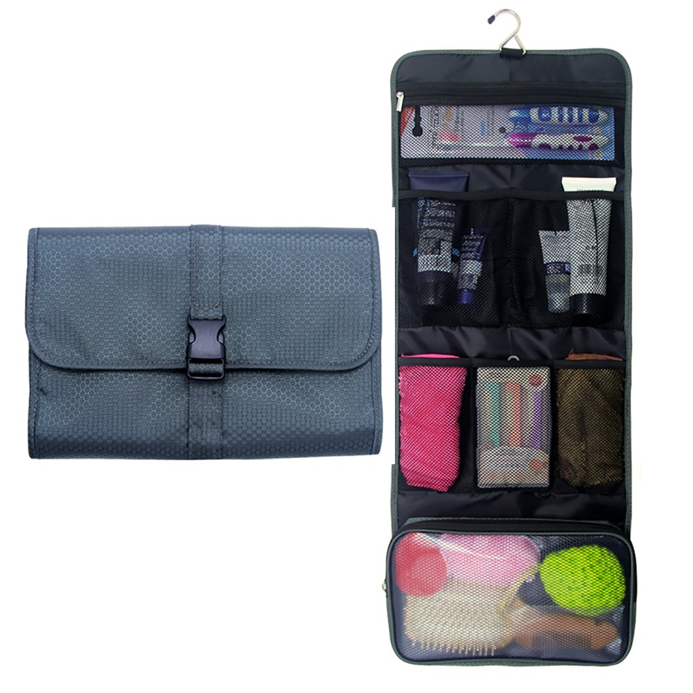 a59cc6332 Travel Hanging Toiletry Bag Travel Kit Organizer Cosmetic Makeup Waterproof  Wash Bag for Women Girls Travel