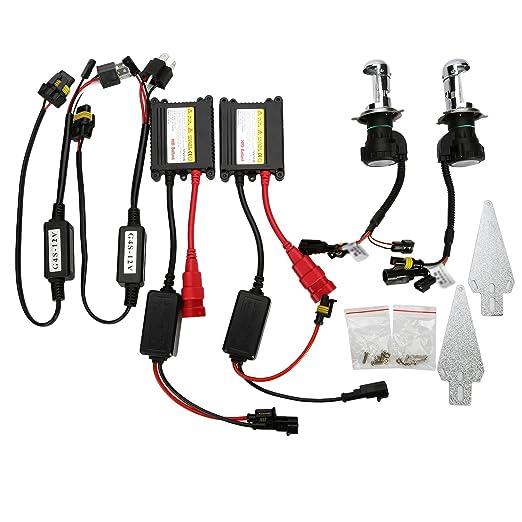 21 opinioni per OSAN CP0804 HID Conversion Kit Auto Bi-Xenon HID Lampada Luce Ultra Sottile