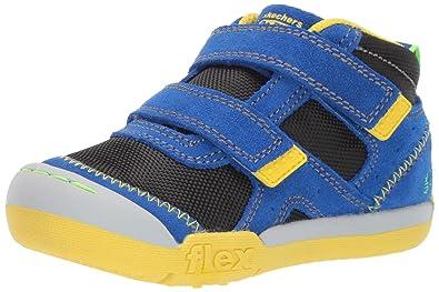 e4555864668d8 Amazon.com | Skechers Kids' Flex Play-mid Dash Sneaker | Sneakers