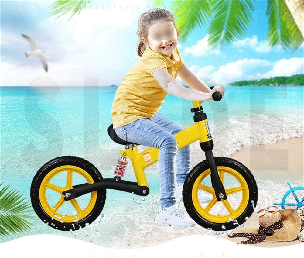 Bicicleta De Los Niños Equilibrio, Bicicletas Primer Entrenamiento Sin Pedales, Ruedas De 12 Pulgadas del Niño Que ...