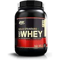 Optimum Nutrition (ON) Gold Standard 100% Whey Protein Powder - 2 lbs, 907 g (Vanilla Ice Cream)