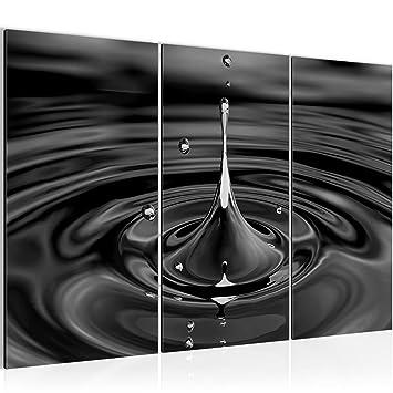 Kunstdruck Leinwand Vlies Bild Bilder Wandbild XXL Wanddeko Wasser Tropfen
