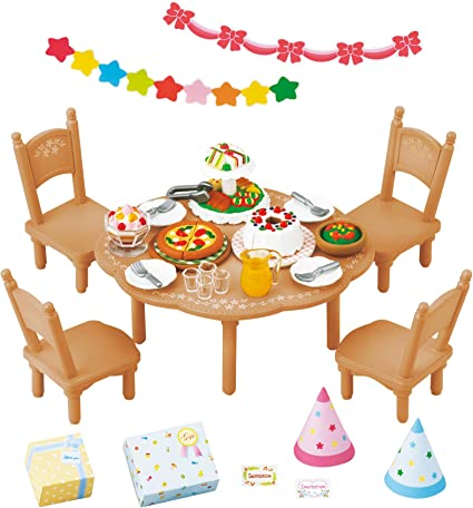 Epoch Calico Critters furniture baby three-stage bed KA 213