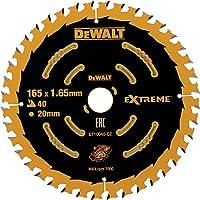 DEWALT Extreme cirkelsågblad DT10640 (för användning på sladdlösa handcirkelsågar, sågblad ø 165/20 mm, skärbredd: 1,65…