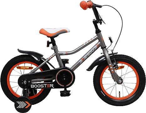 Amigo Booster – Bicicleta infantil, 14 pulgadas, con freno de ...