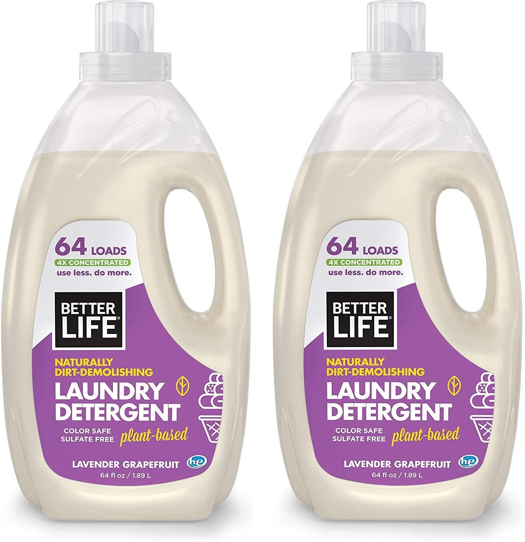 Better Life Natural, 4 detergentes concentrados para la colada ...