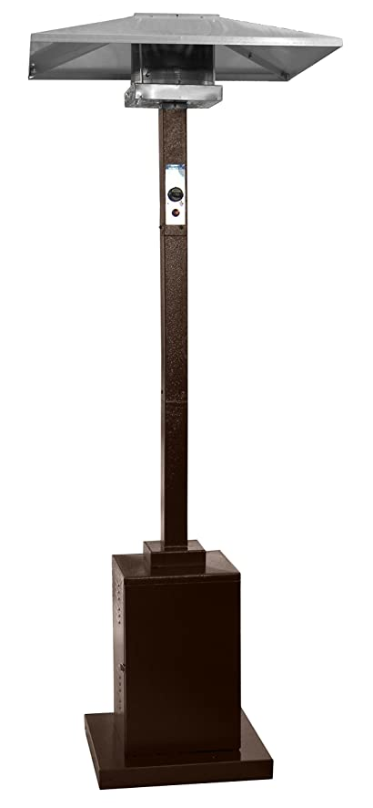 Hiland Commercial Patio Heater In Hammered Bronze