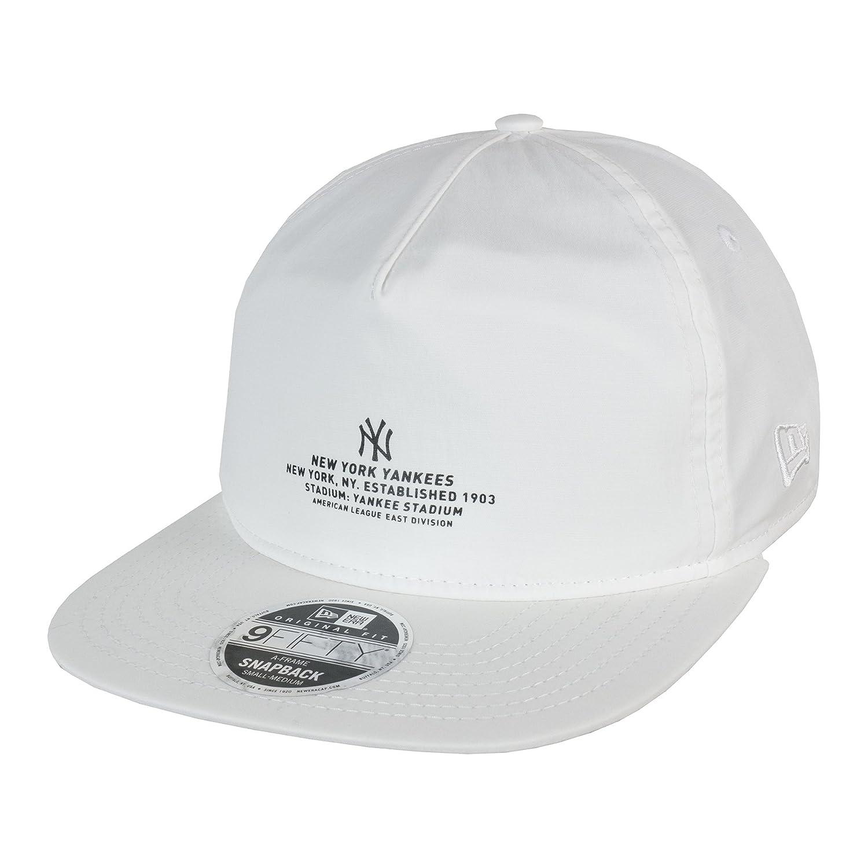 Ära 9FIFTY Monochrome Skript New York Yankees Hysteresen Cap: Amazon ...