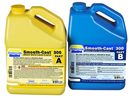 Smooth-Cast 300 Liquid Casting Plastic - Gallon Unit