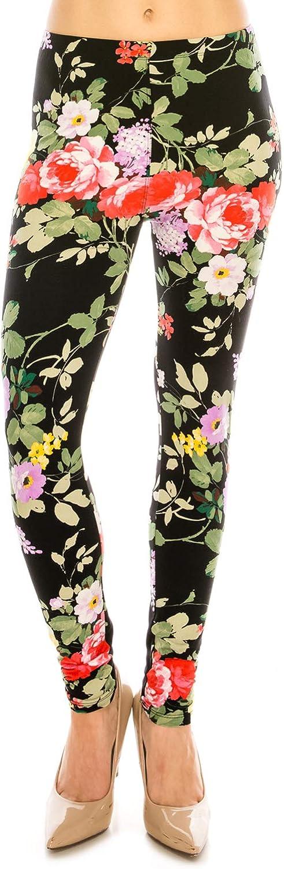 Women's Premium Ultra Soft Patterned Leggings