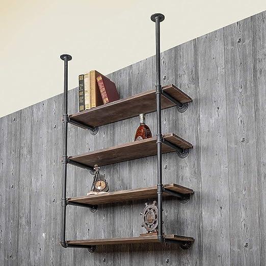 Los soportes de estante Escalera estante estante de la pared ...