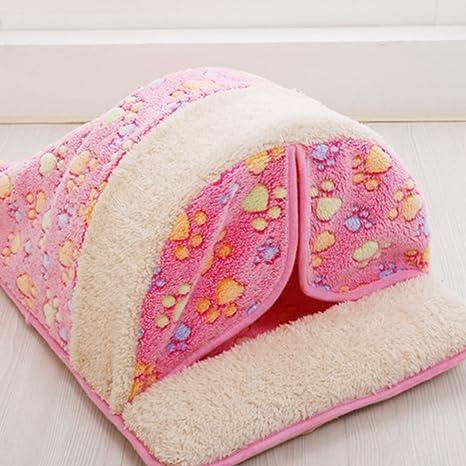 YonganUK - Saco de Dormir para Mascotas de Invierno Suave para Cama de Perro o Gato
