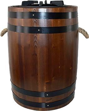 "Móvil gasgrill ""tonelada de barbacoa, de madera. El Interior Romántica para"