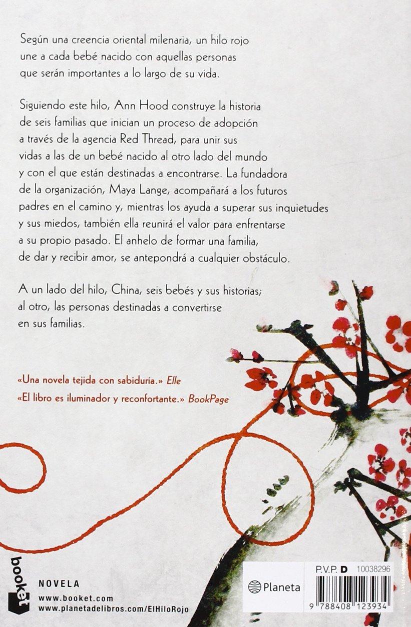 El Hilo Rojo Ann Hood 9788408123934 Amazoncom Books
