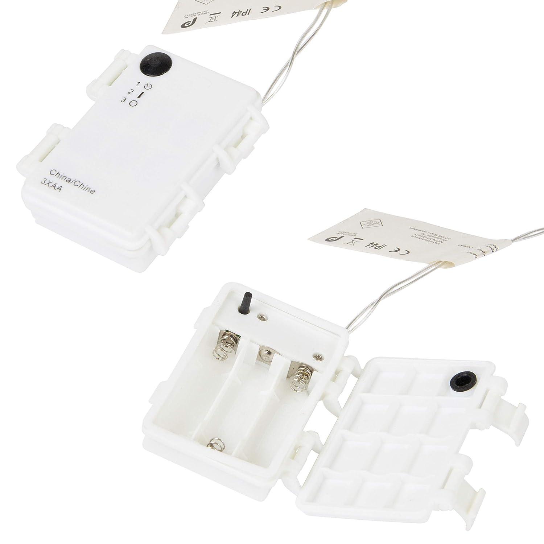 Amazon.de: Nipach GmbH Schneemann Acryl 20 LED weiß ...