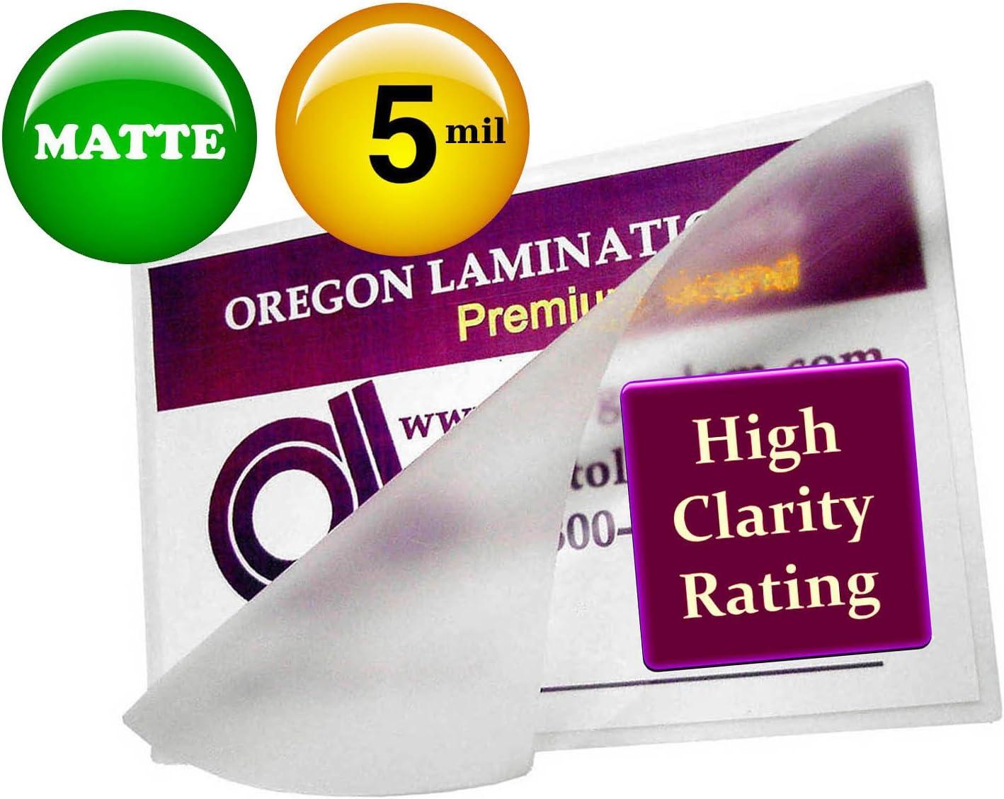 100 Legal 3 Mil Laminating Pouches Laminator Sheets 9 x 14-1//2 Scotch Quality
