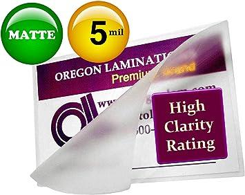 10 Legal 5 Mil Laminating Pouches Laminator Sheets 9 x 14-1//2 Scotch Quality