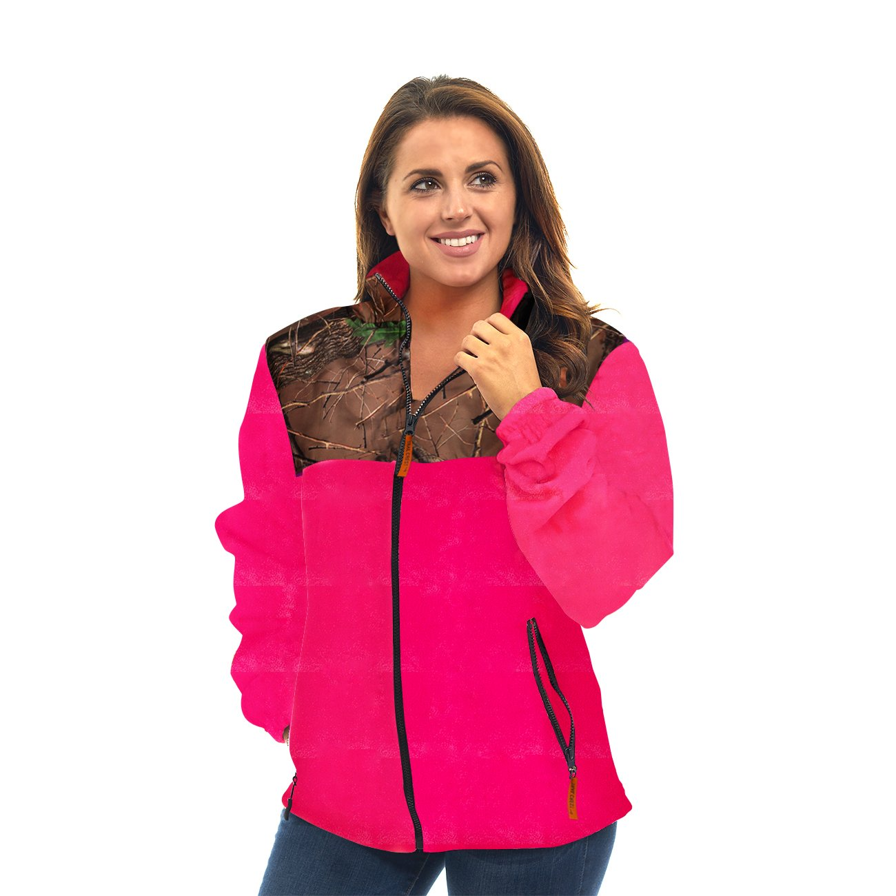 Trail Crest Womens Fleece Wind Jacket