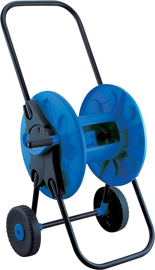 Aqua Control C2098N Carro portamangueras, Azul Negro, 38x48x56 cm: Amazon.es: Jardín