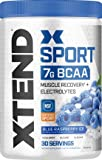Scivation Xtend Hydrasport BCAA Powder, Branched Chain Amino Acids, BCAAs, Zero Sugar Electrolyte Drink Powder…