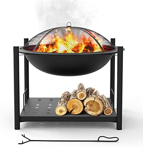 Portable Outdoor Wood Fire Pit