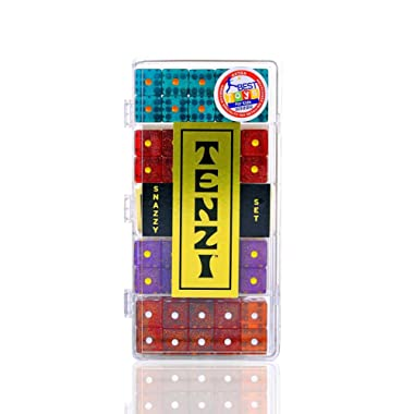 Tenzi Snazzy Set -  40 dice - Colors may vary