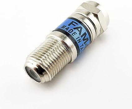 L-COML-COM LCAT1004-08-RF Attenuator 50 Ohm N Plug-Jack 2W//8dB