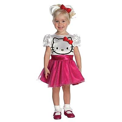 Hello Kitty Tutu Costume Dress - Toddler: Toys & Games