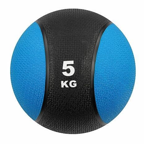 Carnegie 5 kg Balón Medicinal Fitness - Pelota de balón de ...