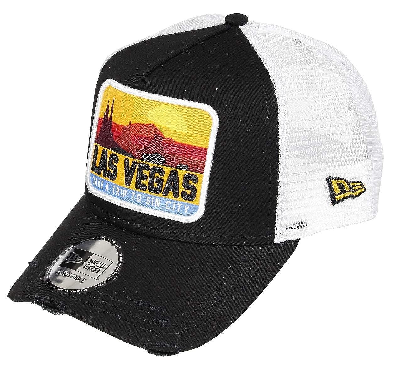 New Era Las Vegas 9forty Adjustable Cap Distressed