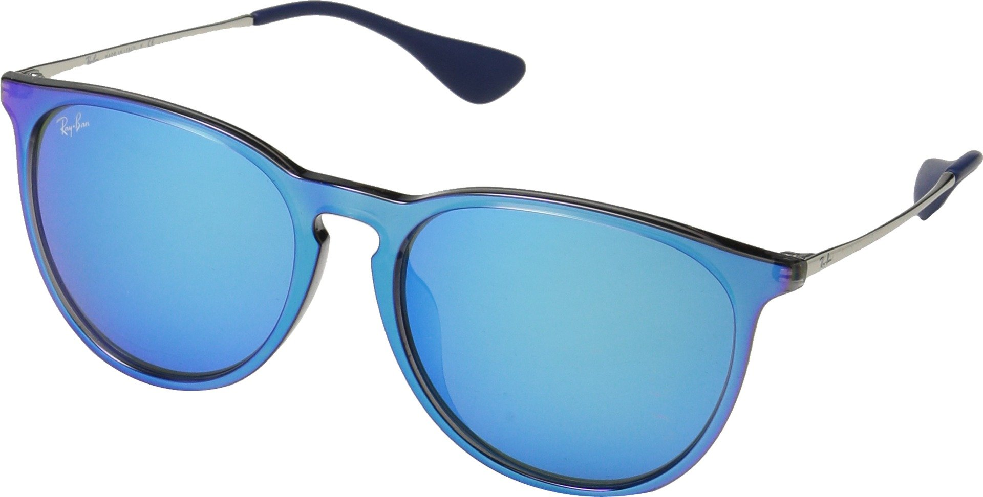 Ray-Ban Unisex 0RB4171F Transparent Grey/Light Blue External One Size by Ray-Ban