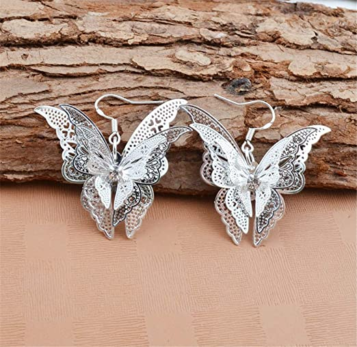 Butterfly Dangle Earrings ONLY...