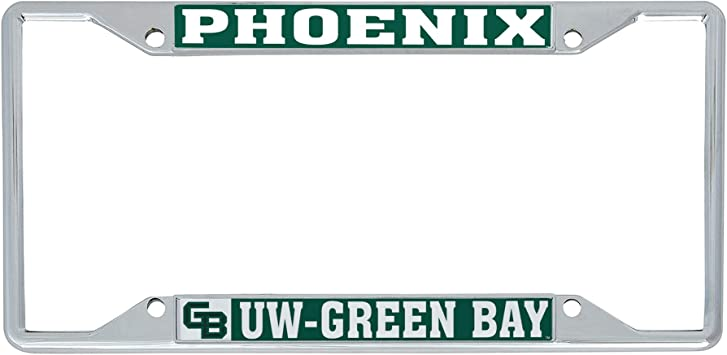Desert Cactus University of Wisconsin Las Crosse UWLAX Eagles NCAA Metal License Plate Frame for Front or Back of Car Officially Licensed Mascot