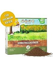 Plantura Bio Herbstrasendünger mit Langzeit-Wirkung, für maximale Winterhärte, idealer Dünger für den Rasen im Herbst, unbedenklich für Hund, Haus- & Gartentiere, Rasendünger, Langzeitdünger…