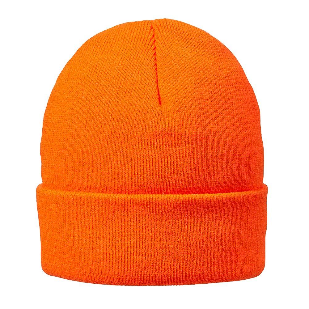 Hot Shot Blaze Thinsulate Acrylic Beanie Blaze Orange One Size Jacob Ash 46-669
